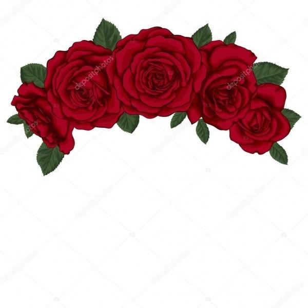 Lindo bouquet com rosas vermelhas e folhas  arranjo floral — vetor