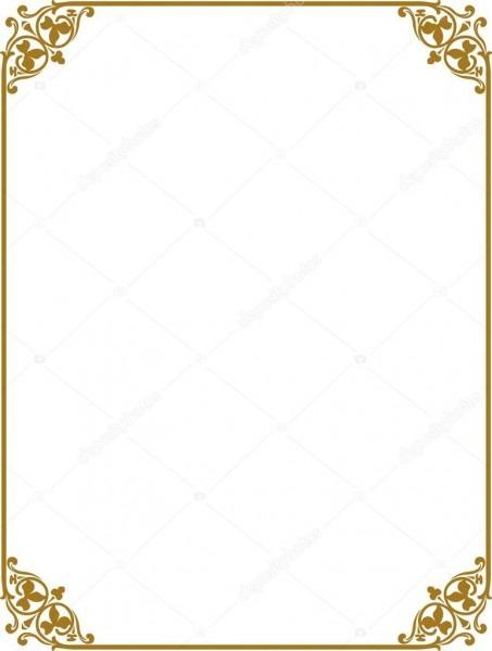 Borda dourada — vetor de stock © shazad  1462281