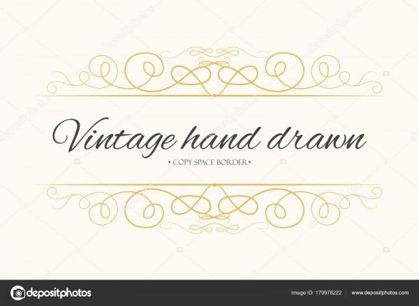 Mão de vetor desenhado floresce, divisor de texto, elemento de