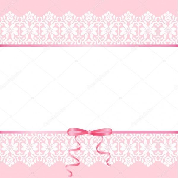 Laço Em Fundo Rosa — Vetor De Stock © Prikhnenko  71974891