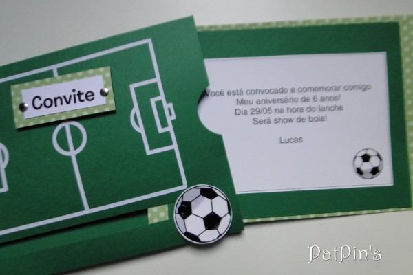 Patipin's  convite futebol para o lucas
