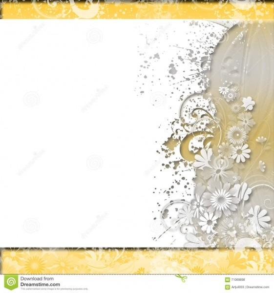 Fundo Floral Convite, Casamento, Teste Padrão Decorativo Dos