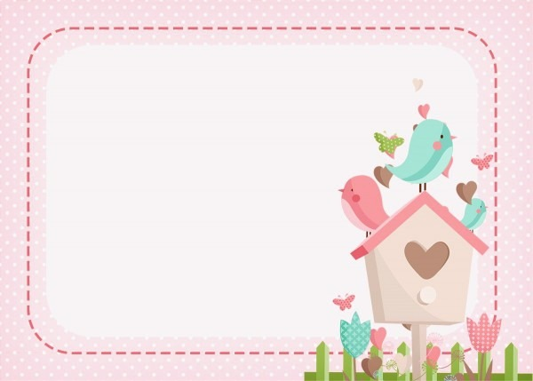Imagem de passarinho para imprimir imagem convite jardim encantado