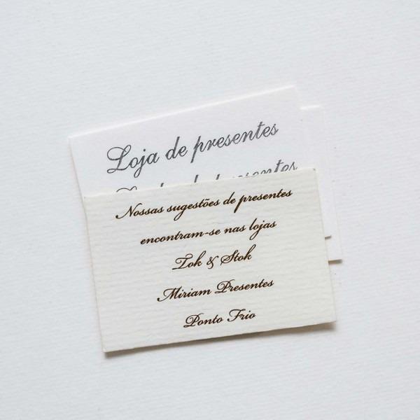 Convites Individuais