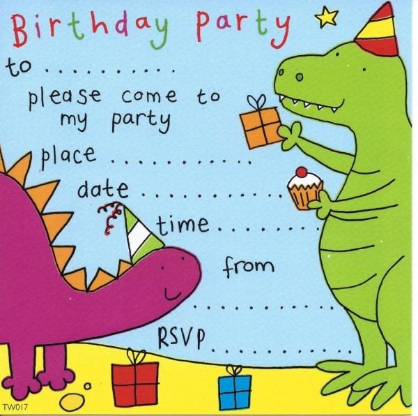 Um bebê na camiseta  convite de aniversário em inglês para
