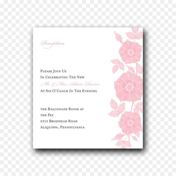 Convite De Casamento Rosa M Convite Da Fonte