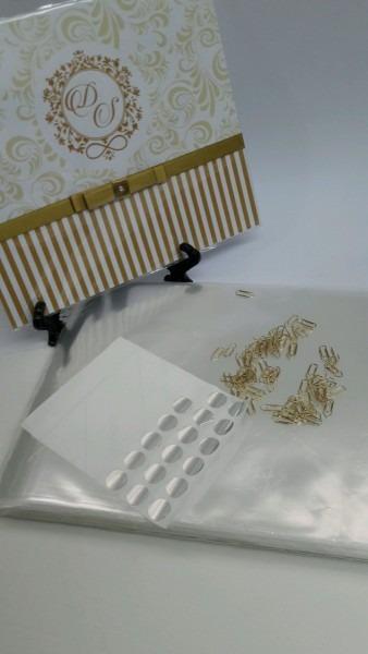 Kit embalagem para convite de casamento no elo7