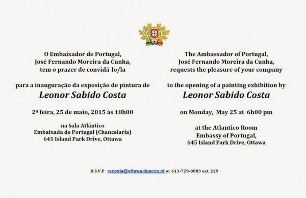 Embaixada de portugal no canadÁ  convite para a inauguração da