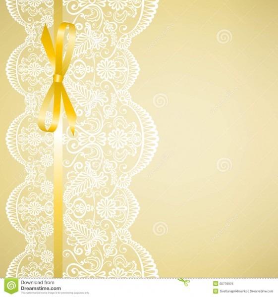 Laço no fundo amarelo ilustração do vetor  ilustração de redondo