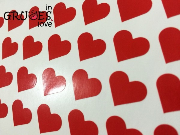 Mini coração lacre para convites 50 unidades frete grátis no elo7