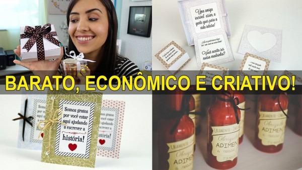 3 Ideias De Lembrancinhas Para Casamento + Convite De Padrinhos +