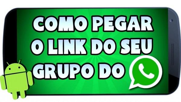 Como pegar o link do grupo do whatsapp ( como enviar link do seu