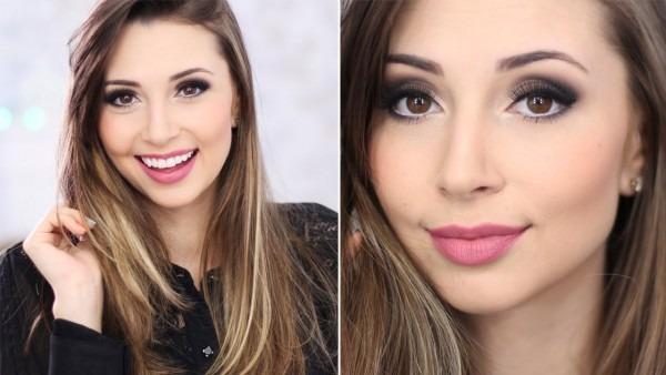 Maquiagem Para Fotos De Convite De Formatura