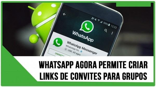 Como criar links de convite para grupos do whatsapp oficial