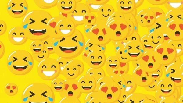 Convite animado (tema  emojis) laura
