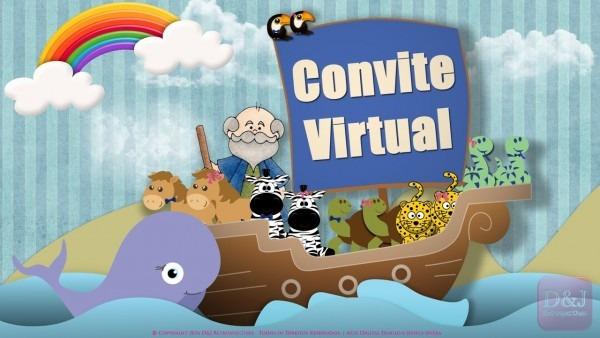 Convite Virtual Arca De Noé
