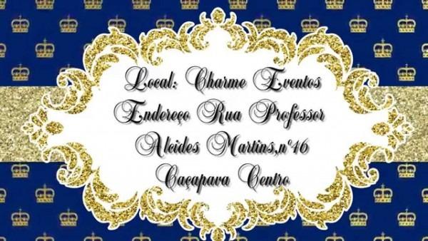 Convite animado rei davi !!!