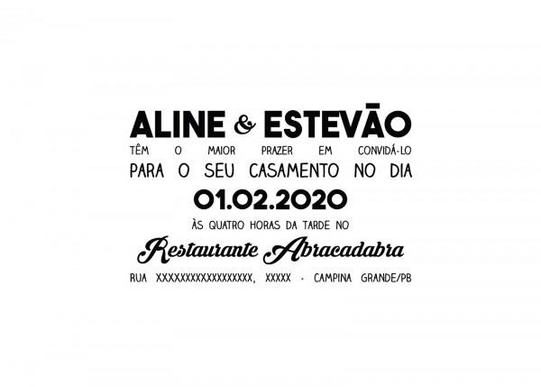 Convite Para Casamento {download}