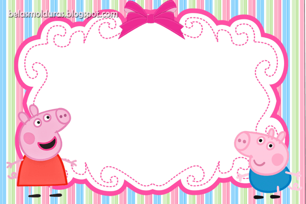 Convites de aniversário  convites de aniversário peppa pig
