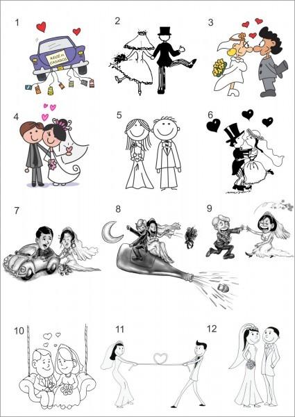 Populares Desenhos Para Convite De Casamento Rg25