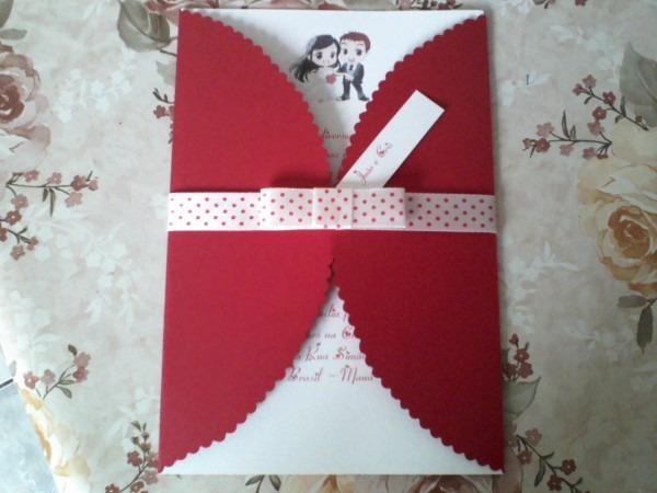Artesanatos laine lima   convite de casamento primos wilton e cintia