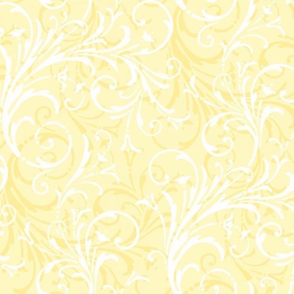 Papel de parede infantil amarelo