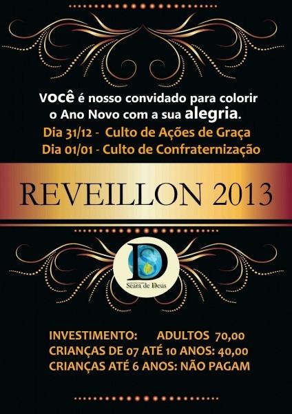 Reveillon 2013 da seara de deus