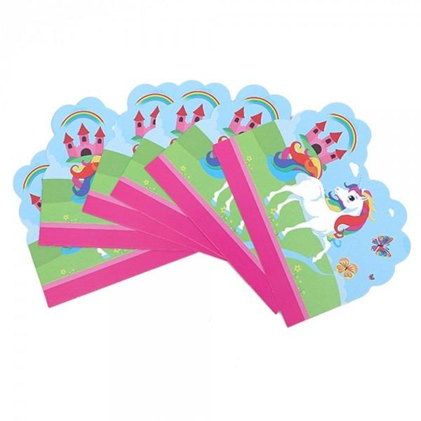 Compre 10 pçs   set unicórnio tema dos desenhos animados festa de
