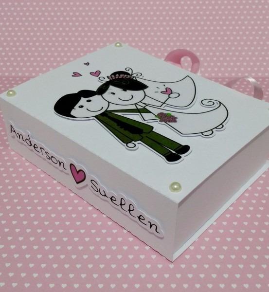 15 caixas convite lembrancinha casamento padrinhos noivinhos
