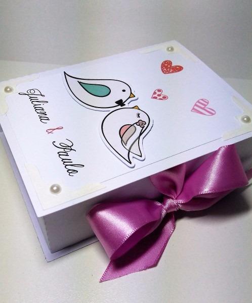 15 caixas convite lembrancinha casamento padrinhos pombinhos