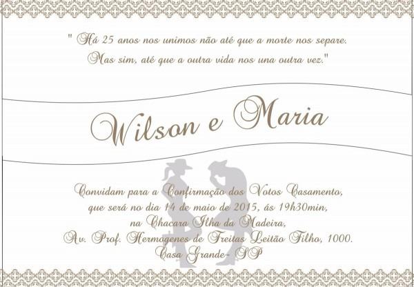 Mensagens para convite de casamento