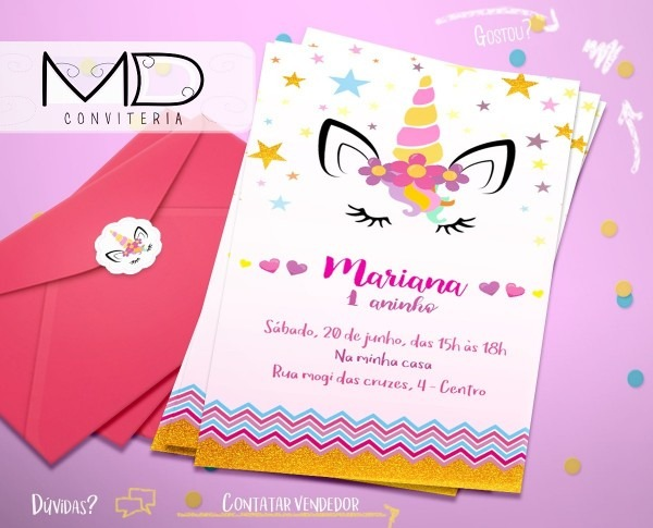 20 convite festa aniversario marinheiro + etiq + env