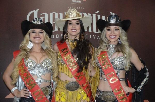 Candidata de jaguariúna está na final do concurso rainha do rodeio
