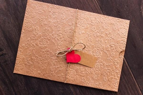 85 envelope convite casamento luva kraft 15x21,5