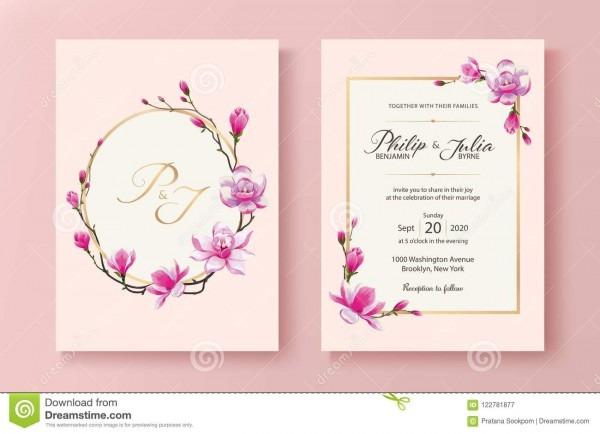 Cartão floral cor