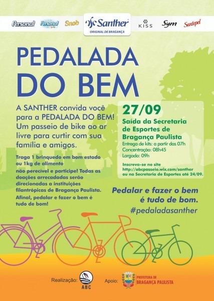Federação paulista de ciclismo – participe da pedalada do bem