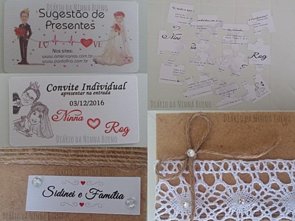 Diário da ninna bueno  detalhes do casamento♥