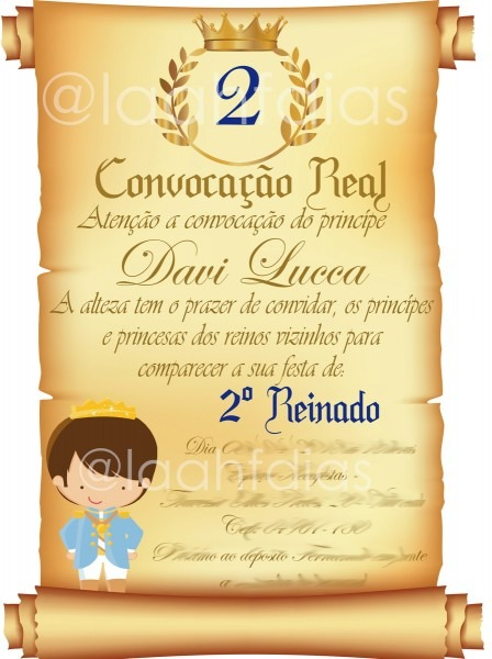 Convite aniversario virtual pequeno principe no elo7