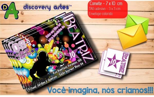 Convite balada no elo7