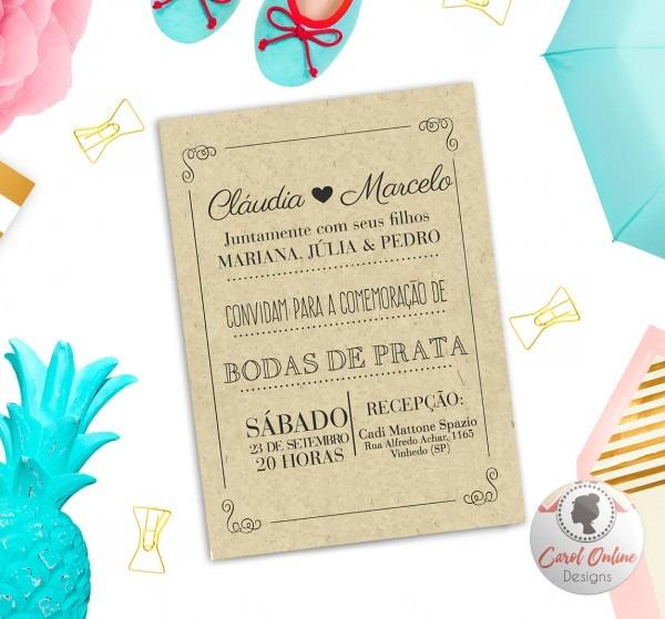 Convite bodas