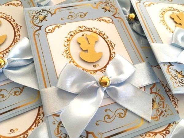 Convite cinderela luxo no elo7