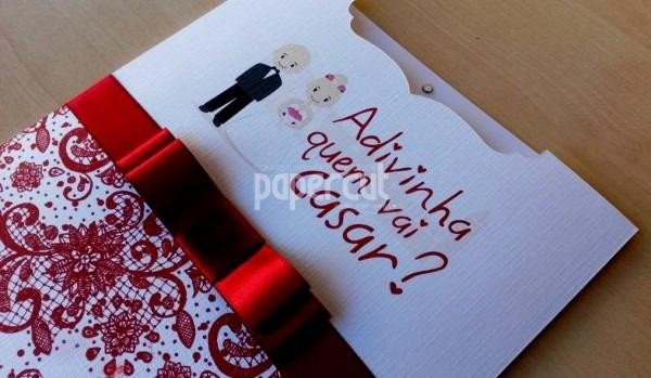 Convite de casamento engra ado maravilhoso divertido no elo7