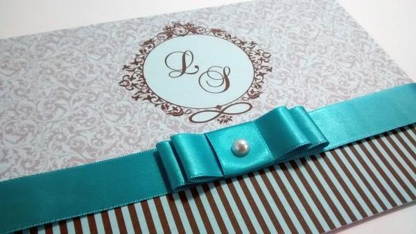 Convite de casamento mod04 no elo7