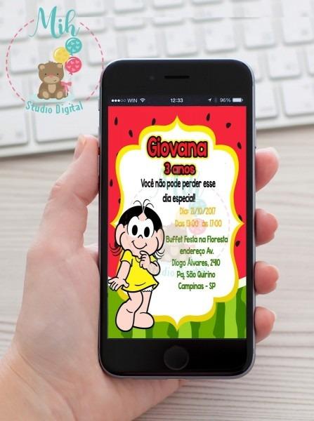 Convite digital festa magali zap