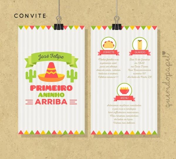 Convites mexico