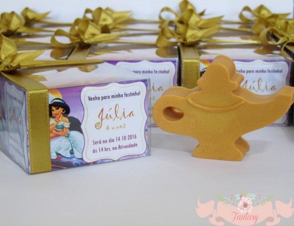 Convite ou lembrancinha jasmine, lâmpada no elo7