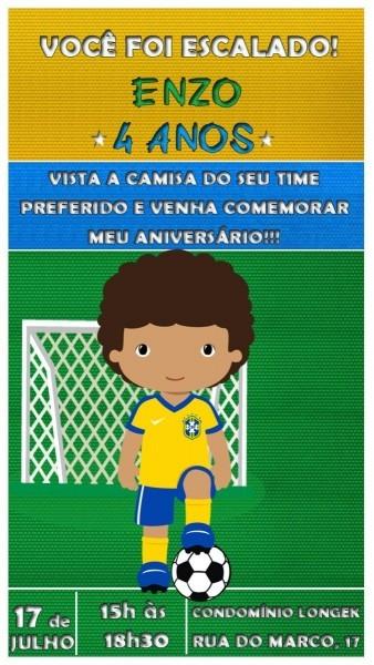 Convite virtual animado tema futebol ( brasil ) md5