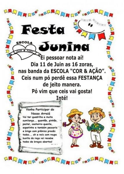 R & ação   convite festa junina!!!escola  co