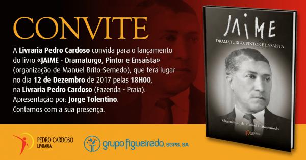 Convite  lançamento do livro  jaime