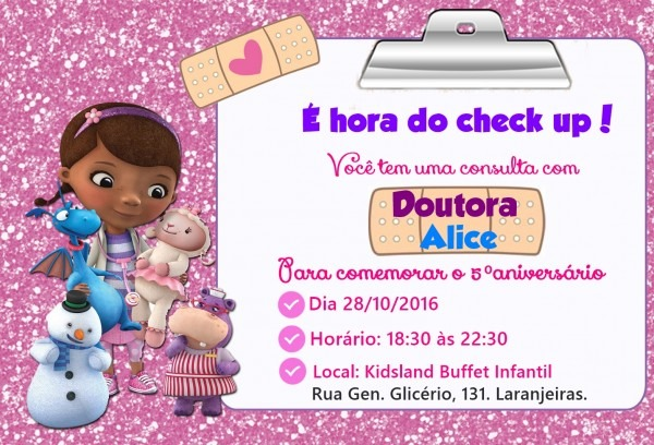 Convites dra brinquedos no elo7